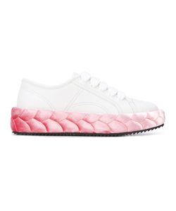 Marco De Vincenzo | Braided Sole Sneakers Calf