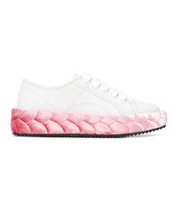 Marco De Vincenzo | Braided Sole Sneakers Calf