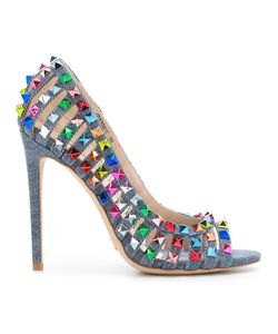 GIANNI RENZI | Studded Pumps 40 Cotton/Leather/Metal Other