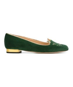 Charlotte Olympia | Kitty Slippers Size 36.5