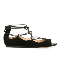 Sam Edelman | Lace-Up Sandals 38 Suede/Polyurethane/Rubber