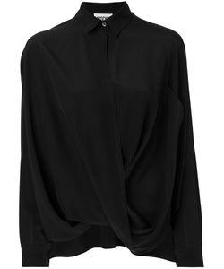 Moschino | Crossover Draped Shirt