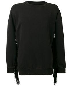 PALM ANGELS   Psychedelic Fringed Sweatshirt
