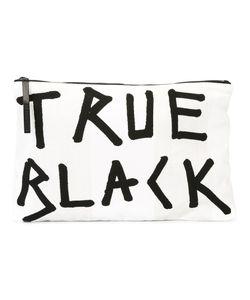 Ann Demeulemeester | Blanche True Flat Clutch Bag