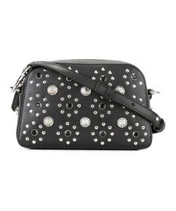 Versus | Flower Studded Crossbody Bag Calf Leather/Cotton