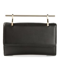 M2Malletier | Small Top Bar Shoulder Bag Leather