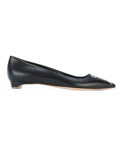 Rupert Sanderson | Pointed Toe Ballerinas 36 Leather