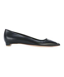 Rupert Sanderson | Pointed Toe Ballerinas 36 Leather
