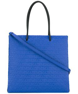 Moschino | Logo Embossed Tote Polyester