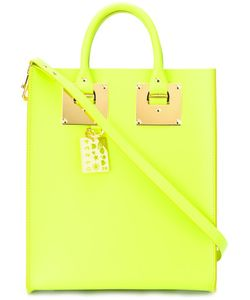 Sophie Hulme | Rectangular Double Handles Tote Calf Leather