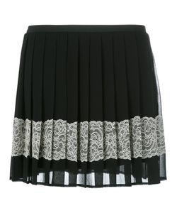 Red Valentino | Embellished Crepe Mini Skirt 38 Polyester