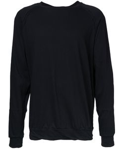 Bassike   Raw Fit Jumper Large Cotton