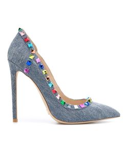 GIANNI RENZI | Studded Pumps 35 Cotton/Leather/Metal Other