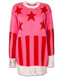 MSGM | Пуловер В Рубчик Со Звездами
