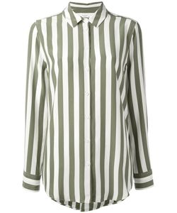 Equipment | Crepe De Chine Striped Shirt