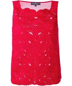 Salvatore Ferragamo | Lace Embroidery Top