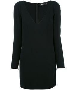 Dsquared2 | Long Sleeve Mini Dress 42 Viscose/Acetate/Spandex/Elastane