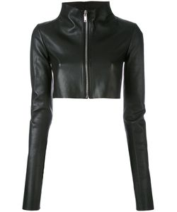 Rick Owens Lilies | Cropped Leather Jacket Lamb