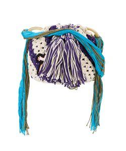 Peter Pilotto   X Francis Upritchard Applique Crocheted Bag