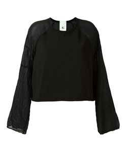 Lost & Found Rooms | Contrast Sleeve Sweatshirt Size Small