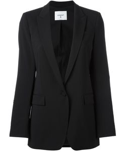Dondup | One Button Blazer 44 Wool/Acetate/Polyester
