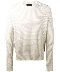 IRIS VON ARNIM | Degradé Open Knit Jumper Medium