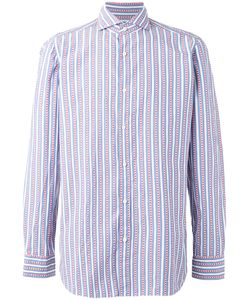 BORRELLI | Striped Shirt 43 Cotton