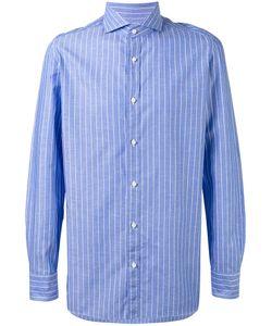 BORRELLI | Club Collar Striped Shirt