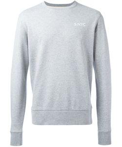 SATURDAYS NYC | Logo Stamp Sweatshirt Size Medium