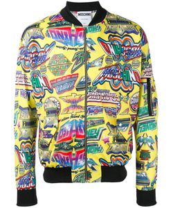 Moschino | Printed Bomber Jacket Size Small