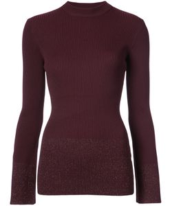 NOMIA | Mock Neck Ribbed Knit Women