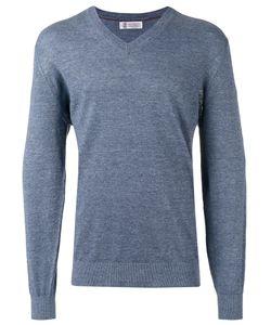 Brunello Cucinelli   V Neck Sweatshirt Size 46