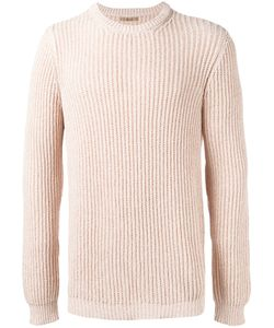 Nuur | Ribbed Detail Jumper 48 Cotton/Nylon