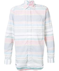 Engineered Garments | Striped Shirt Size Large