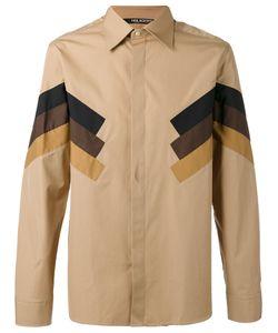 Neil Barrett | Tri-Stripe Panel Shirt Size 41