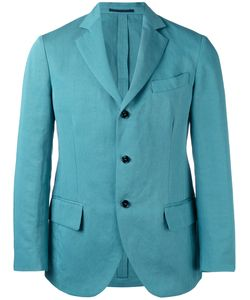 MP MASSIMO PIOMBO | Unconstructed Contrast Button Blazer Size 50