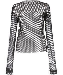 Les Animaux | Stretch Mesh Top 42 Polyester/Spandex/Elastane