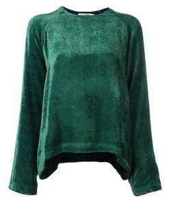 Roseanna | Devoré Blouse Womens Size 36 Silk/Viscose