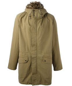 YVES SALOMON HOMME | Trim Detail Hooded Coat 48