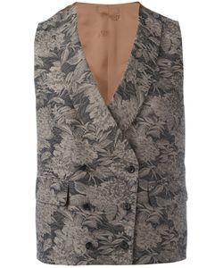 GABRIELE PASINI | Embroidered Waistcoat Size 46
