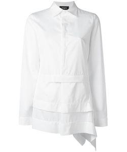 Dsquared2 | Asymmetric Laye Design Shirt 46 Cotton