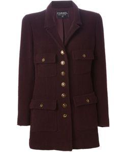 Chanel Vintage | Короткое Пальто Из Букле