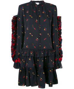 Magda Butrym | Платье С Цветочным Принтом И Рюшами