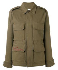 AVA ADORE | Куртка В Стиле Милитари С Вышивкой