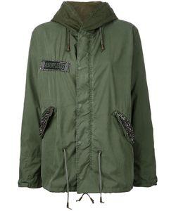As65   U.S Army Hooded Military Coat Xxs Cotton/Nylon