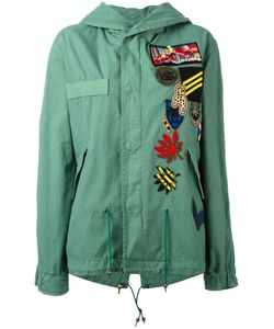 MR & MRS Italy | Patch Detail Military Jacket Size