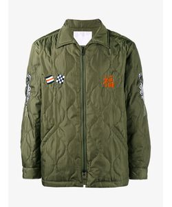 White Mountaineering | Embroide Quilted Jacket 1 Polyester