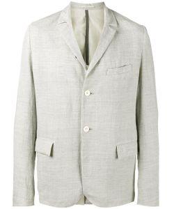KAZUYUKI KUMAGAI | Creased Single Breasted Jacket