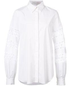 Carolina Herrera | Crochet Shirt 6 Spandex/Elastane/Cotton