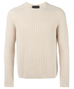 IRIS VON ARNIM | Ribbed Jumper Medium Cashmere